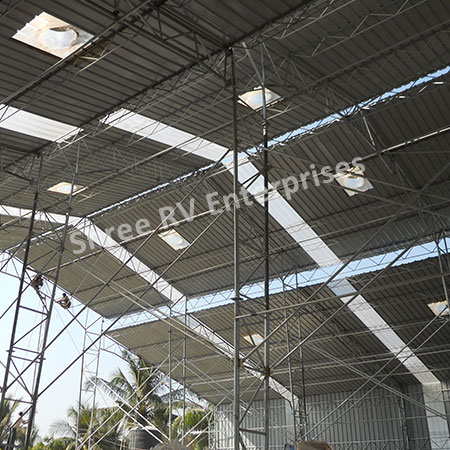 Factory Shed Supplier in India