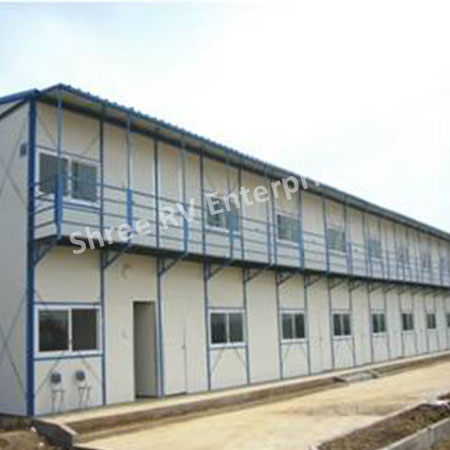 Sandwich Panel Labour Camp in India